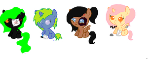 Abused Adopts MLP CLOSED by XxBlue-ThunderxX