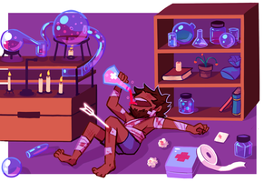 Pilgrims of Rao - Potions, Alchemy, and Recovery by NightMargin