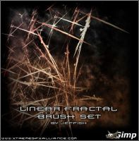 Gimp Linear Fractal Brush Set by Jeffish