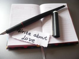 Write About Love - 1 by dreamsaddict