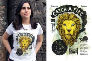 Catch a Fire T-shirt by ChamaCamisetas