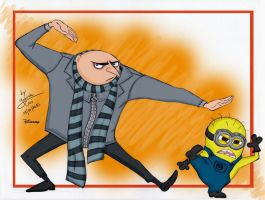 Gru - Despicable Me by Dinogaby