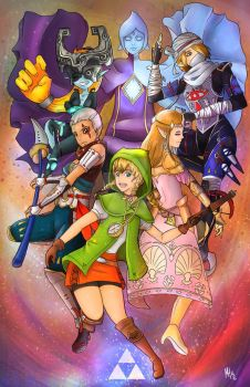 Hyrule Warriors by Forever-Nocturne