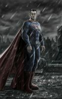 Superman in Batman vs Superman by billycsk