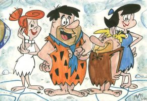 Flintstones and Rubbles by Granitoons