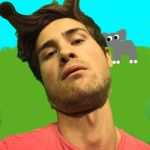 Anthony The Giraffe (Smosh fanart) by Dramaticrabbit