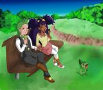 Iris and Cilan - Wishfulshipping by Rumibelle