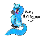 Baby articuno by lilyduck
