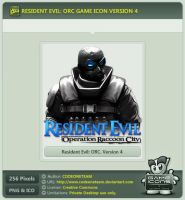 Resident Evil: Operation Raccoon City Icon v4 by CODEONETEAM