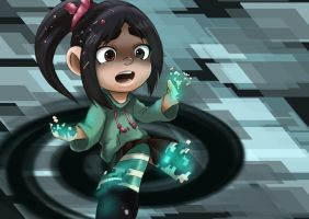 Wreck-it-Ralph: Glitch by kaiyuan