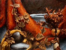 Still Life with Leaves by IsrafelX