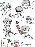 Smosh - Ian doodles by GothicShoujo
