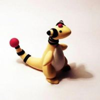 pocket ampharos by KiwiPheonix