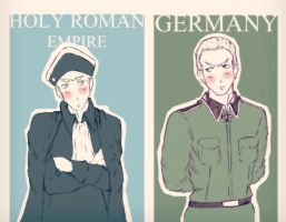Holy Roman Empire and Germany Hetalia by Happy-Bomber