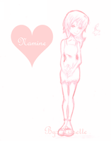.::KH2::. Namine by Kite-Mitiko