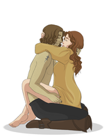 Rumbelle moment by AngelQueen13