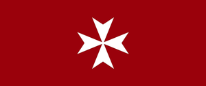 War Standard of the Knights Hospitaller by thelilpallywhocould