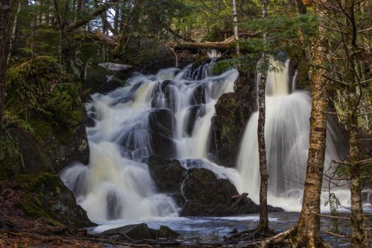 Patty's Falls - Drew Plantation, Maine 01 by Riot207Photography