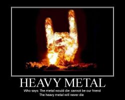 HEAVY METAL  motivacional by Giosuke