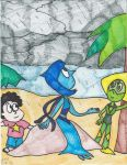 Lapis' First Rainy Day by Millie-the-Cat7