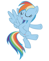 Rainbow Dash Vector by Guinn1190