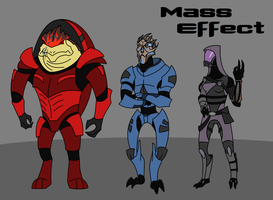 Mass Effect Clone Wars Style by Riptor25