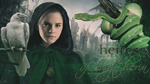 Heiress of Slytherin by feltsbiannn