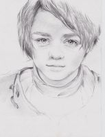Arya-game of thrones by M-K-Riddly-7