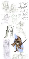 Dreamworks Sketchdump by Obi-quiet