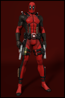 Deadpool - The Merc With A Mouth by IshikaHiruma
