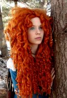 Chase the Wind - Merida Cosplay by Quinnella