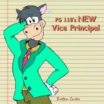 Ps 118's New Vice Principal, Horace Horsecollar by Scotaliano