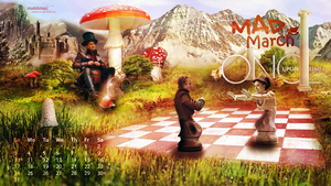 OUAT 2O13 Calendar - March by Mukhina-KS