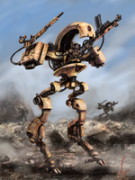 Desert Mech by NickHerbert