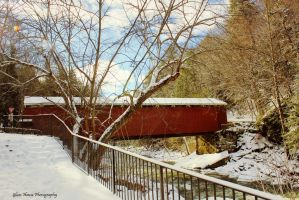 McConnell's Mill Covered Bridge by GlassHouse-1