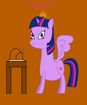 My Little Pony - Happy Thanksgiving from Twi 2013 by worldofcaitlyn