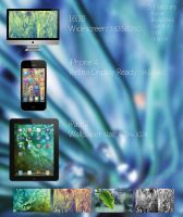 Light Streaks - Wallpaper Pack by alexandru-r-ghinea