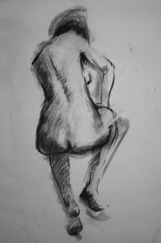 Life Drawing 1 by gienahclarette