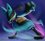 Smash Bros. [Lucario] by Wraeclast