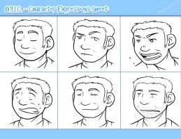 OYIC - Xander's Expressions by UselessSora