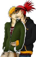 Renji x Ichigo Color by SadistSeraphim
