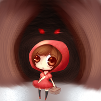 Little Red Riding Hood by Nina-Akamatsu