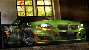 Bmw Z4 Gymkhana by x-tomi