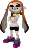 Female Inkling by NeoMetalSonic360