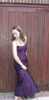 Patterned Purple 3 by angelusmusicus-stock