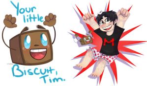 Markiplier Stickers by CityCatSlack