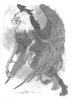 The Gryphon by Schwarze1