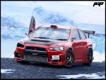 Mitsubishi Lancer Evolution X by JcpDesign
