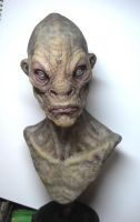 Silicone alien bust. by BOULARIS