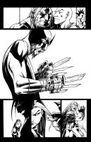 Death of Wolverine The Logan Legacy issue 1 pg.14 by olivernome